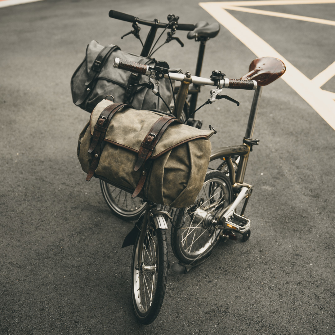 """SCRAMBLER"" CORDURA ® NYLON BROMPTON BAG (for S-bag carrier frame)"
