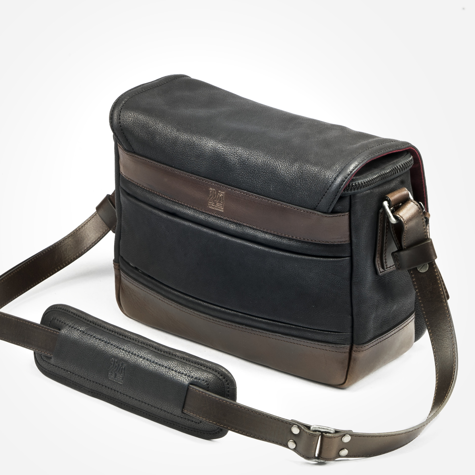 Ryker Full Leather Camera Bag M Size Handmade Camera Bags Backpacks Daily Bags Watch Straps Wotancraft