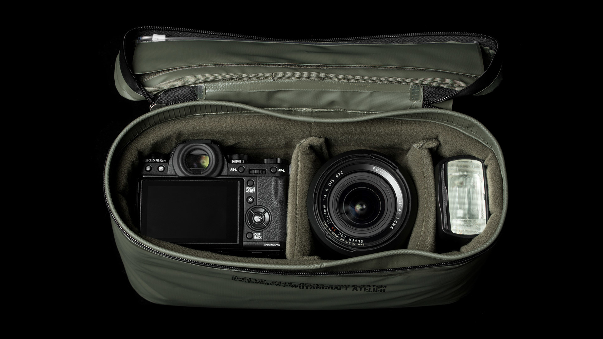 Waterproof Camera Insert L Size Handmade Camera Bags Backpacks Daily Bags Watch Straps Wotancraft