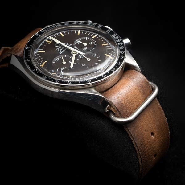 WWII LEATHER WATCH STRAP #73nato-omega