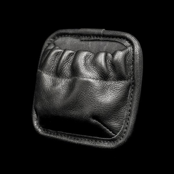ZIPPERLESS POCKET MODULE (S size, full leather)