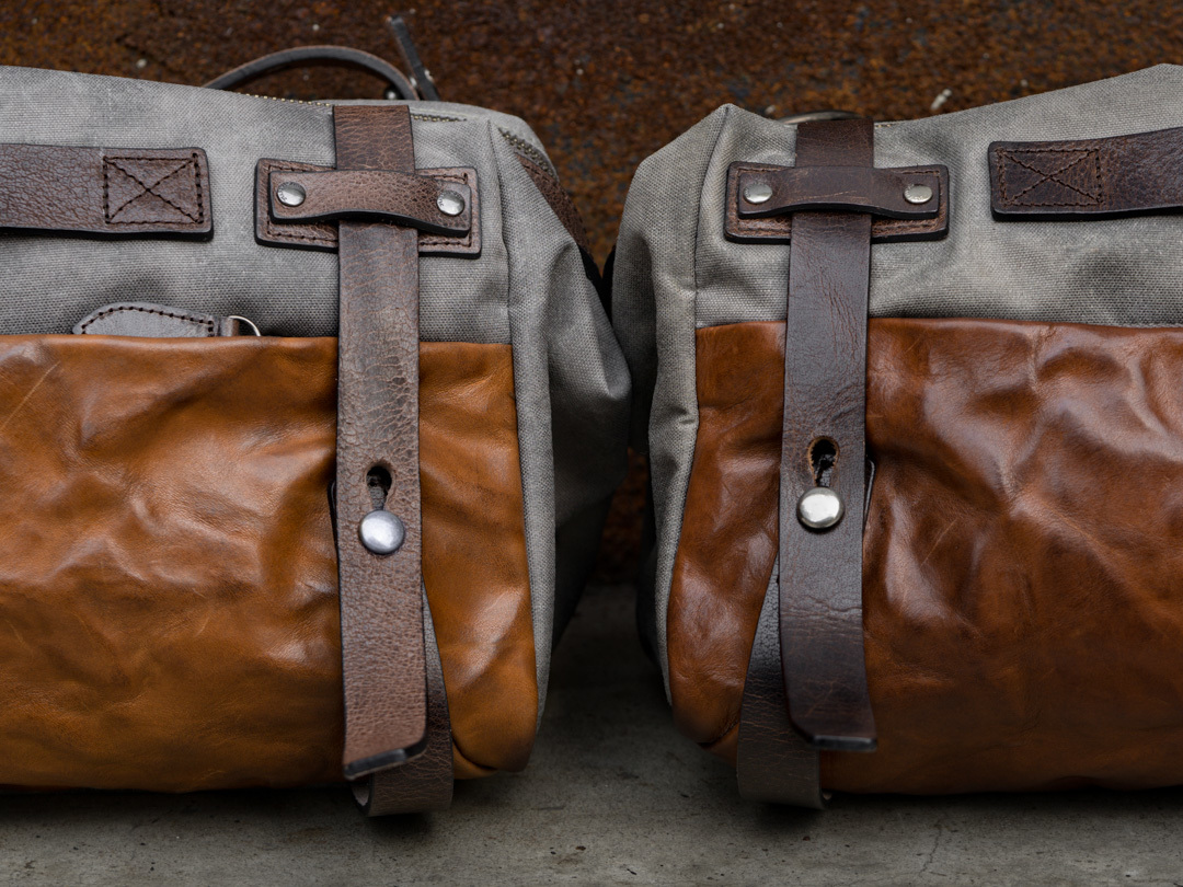 Wotancraft vegetable tanned leather bag