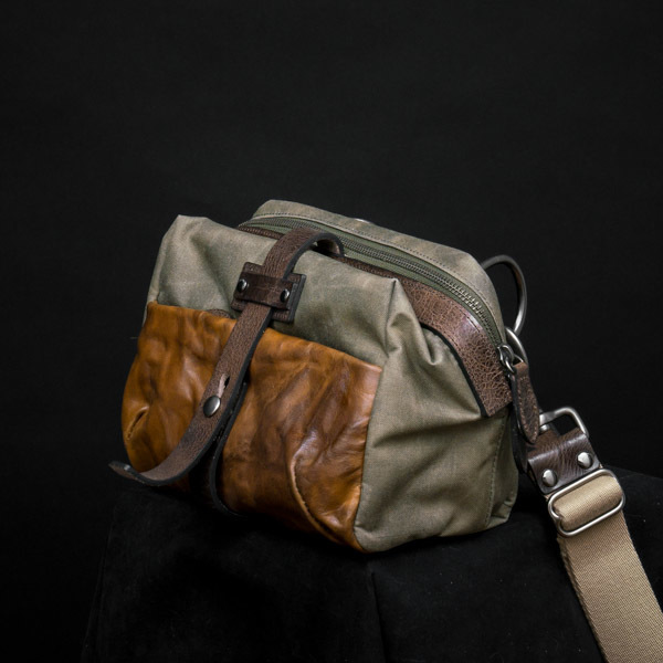 MINI RIDER SLING BAG (ash green)