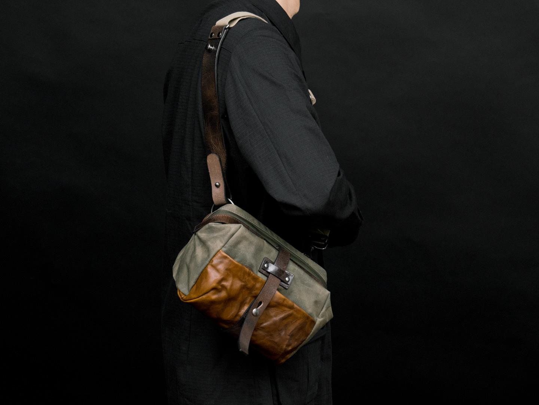 MINI RIDER shoulder carry.