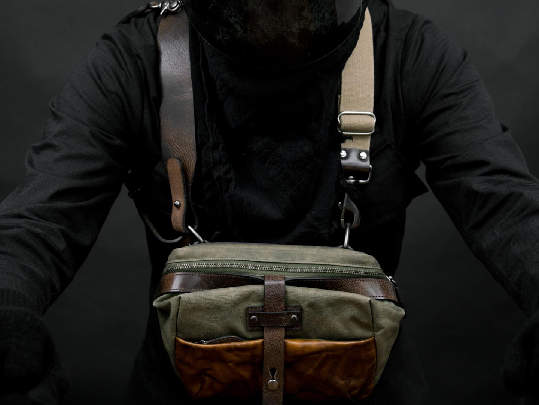 MINI RIDER chest carry.