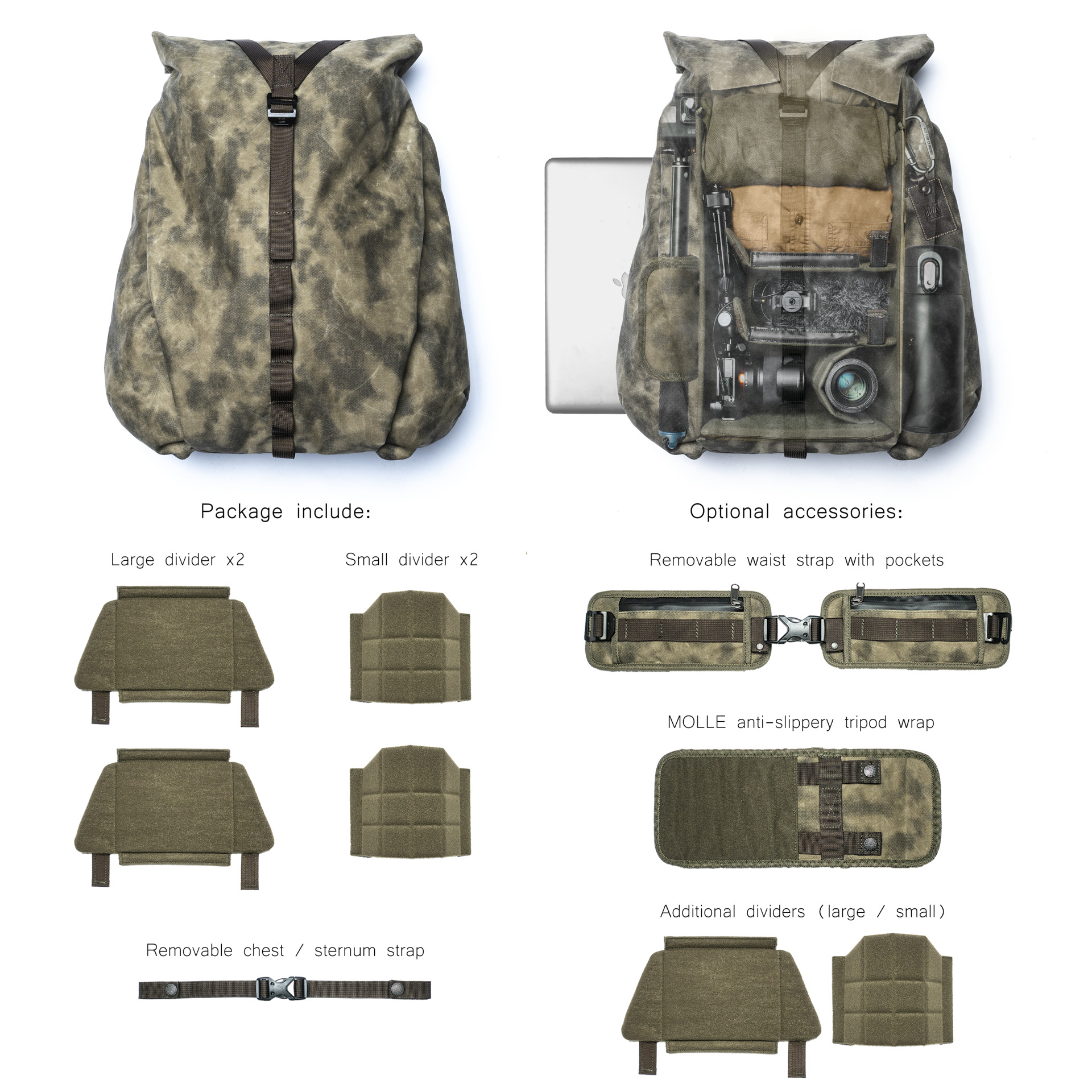 NOMAD product content and accessories