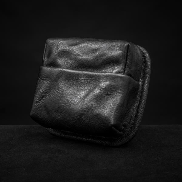 HIDDEN ZIPPER POCKET MODULE (S size, full leather)  (30-day preorder)