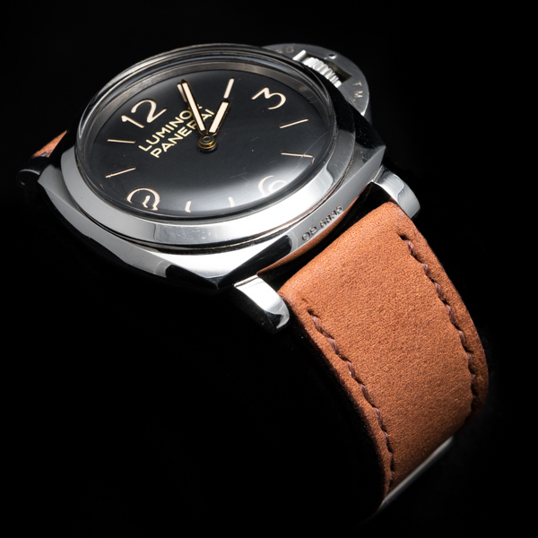 NUBUCK COWHIDE STRAP (Rust brown, for Panerai)