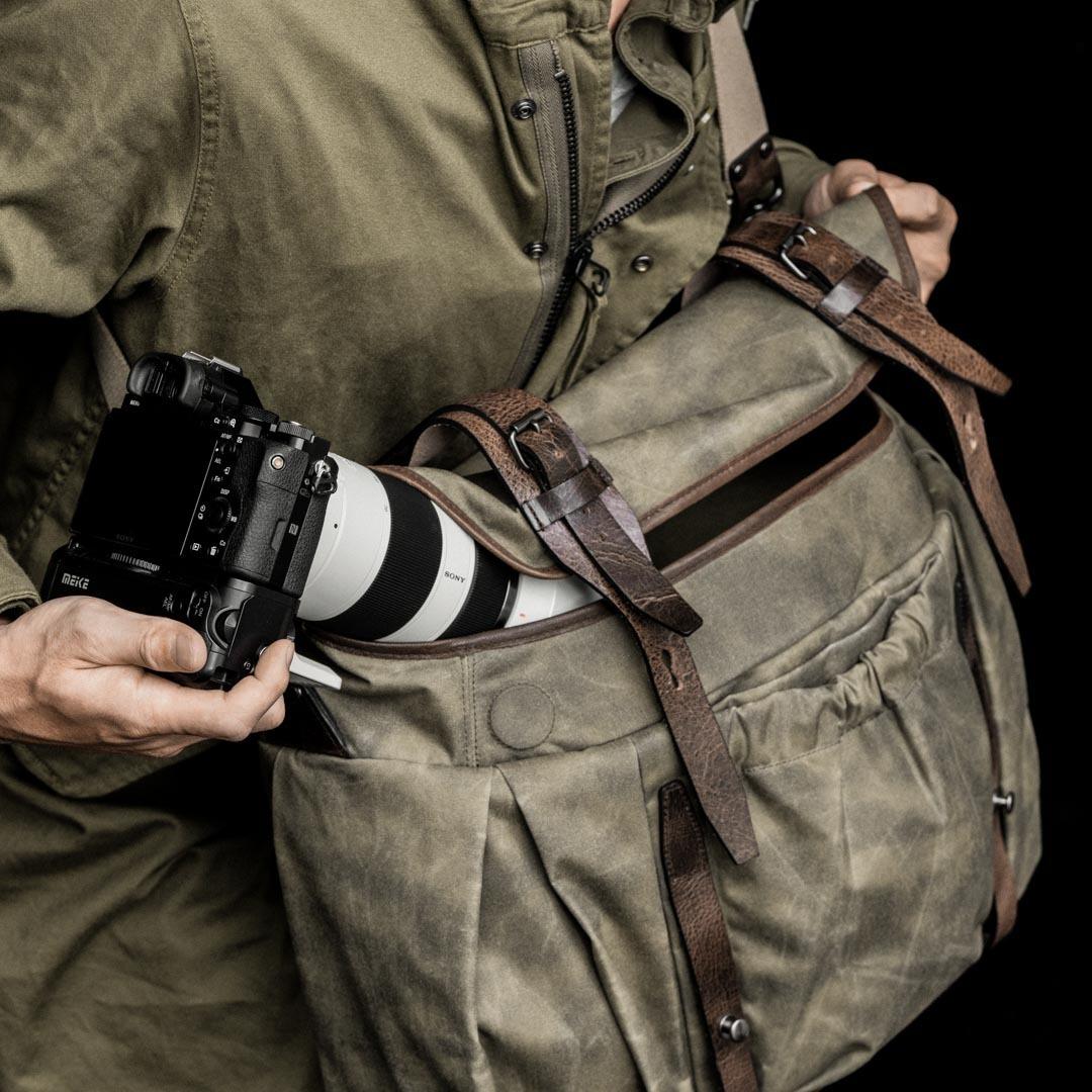 「TROOPER トゥルーパー」カメラバッグ(サイズ: L)