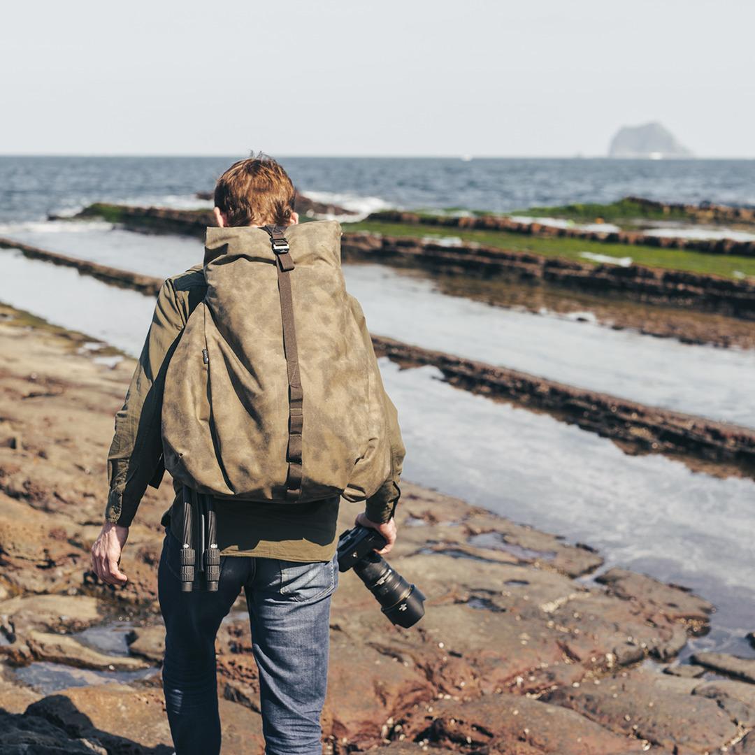 「NOMAD 游牧者」旅遊相機背包 25L
