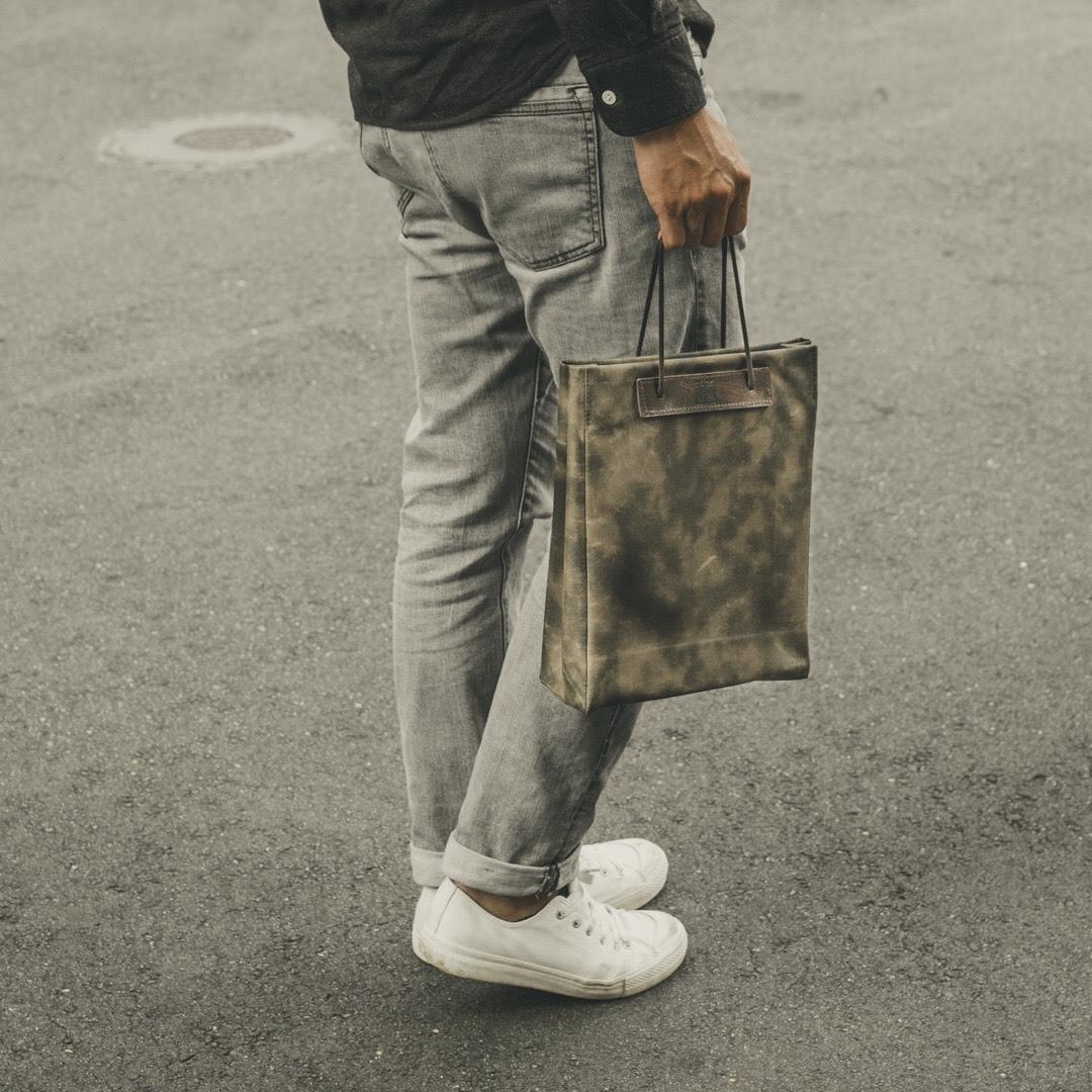 揉不爛手提袋