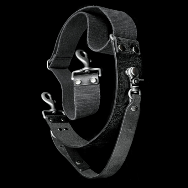 3-POINT STABILIZATION SHOULDER STRAP (black)