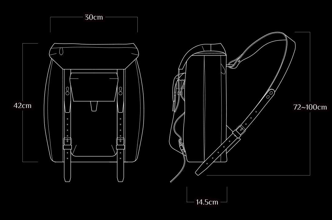 wotancraft cordura backpack rebel