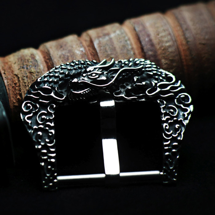 """DRAGON"" 925 STERLING SILVER BUCKLE"
