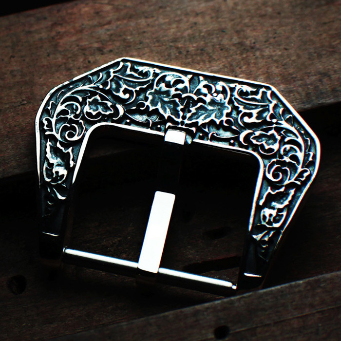 """SAFARI"" 925 STERLING SILVER BUCKLE"