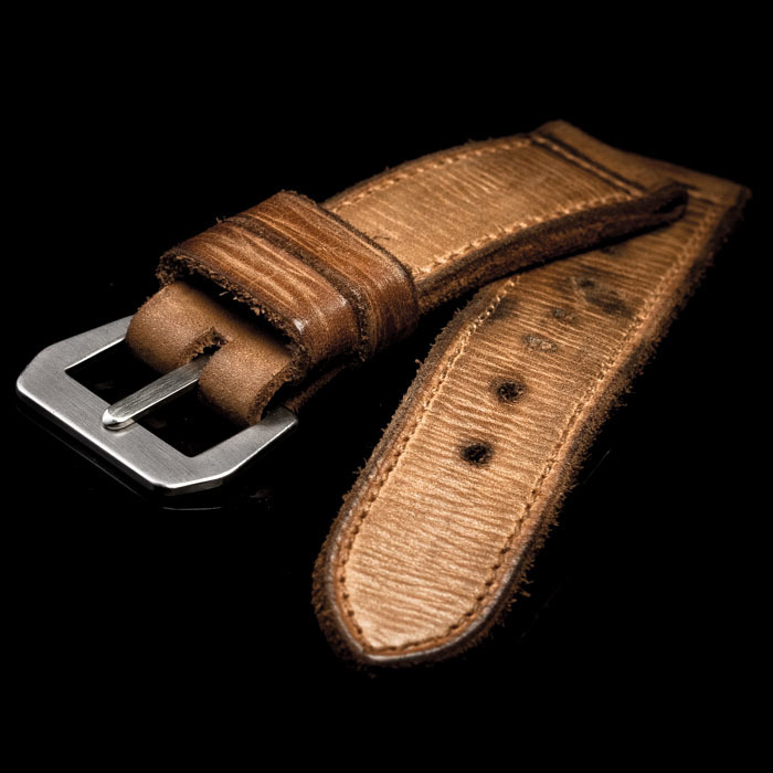 SEA WOLF LEATHER WATCH STRAP
