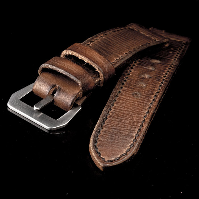 MARIO ARILLO LEATHER WATCH STRAP