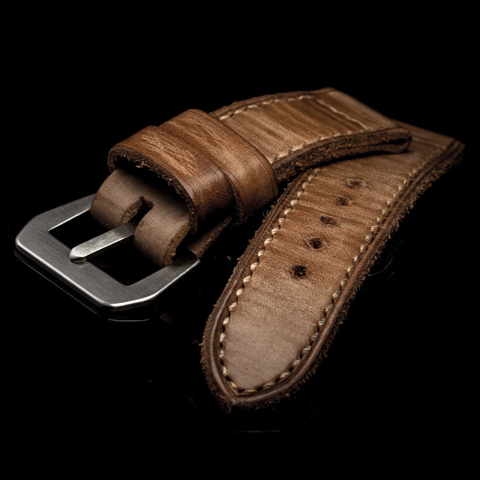 X-MAS COMMANDOS 001 LEATHER WATCH STRAP