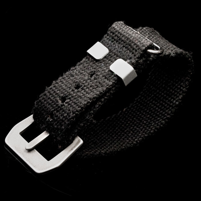X-MAS COMMANDOS 023 WAXED NYLON NATO WATCH STRAP