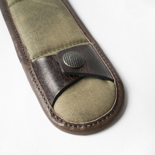 DETACHABLE SHOULDER PAD (Olive Green, 1pcs, M size)