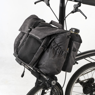 """""""PILOT"""" BROMPTON BAG 10L, includes 2 pouch modules (optional carrier frame available)"""