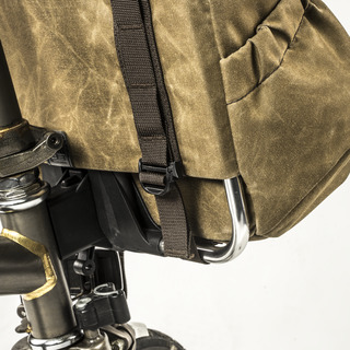 """""""PILOT"""" BROMPTON BAG 10L (includes 2 pouch modules , zipper & water bottle)"""