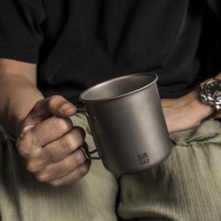 鈦金屬輕量折疊杯