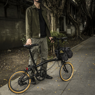"""""""PILOT"""" BROMPTON BAG 7L, includes 2 pouch modules (optional carrier frame available)"""