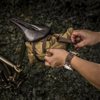 """""""PIONEER"""" SADDLE POUCH"""