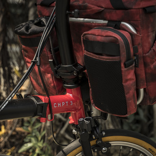 """""""PILOT"""" BROMPTON BAG 10L CHPT 3 Ver., includes 2 pouch modules (optional carrier frame available)"""