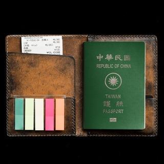 「諸葛孔明 出師表」書法皮革護照套
