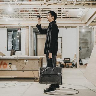 「MUSE 」DESIGNER BAG, L size (A4 documents / blueprint use)