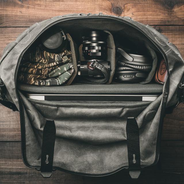 """SCRAMBLER"" CORDURA ® NYLON BROMPTON BAG (for S-bag carrier frame)"