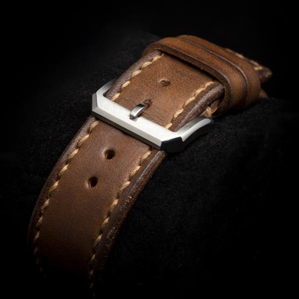 WWII LEATHER WATCH STRAP #73r2