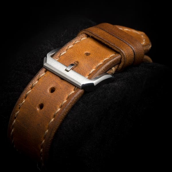 WWII LEATHER WATCH STRAP #71r2