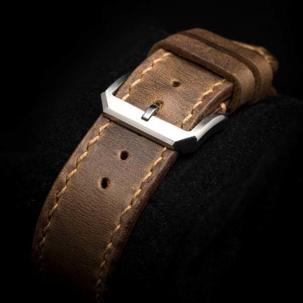 WWII LEATHER WATCH STRAP #72